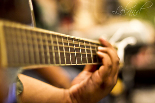 Poetry of music by Leland on flickr